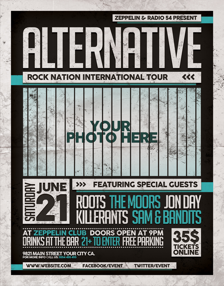 Alternative Flyer Template 2