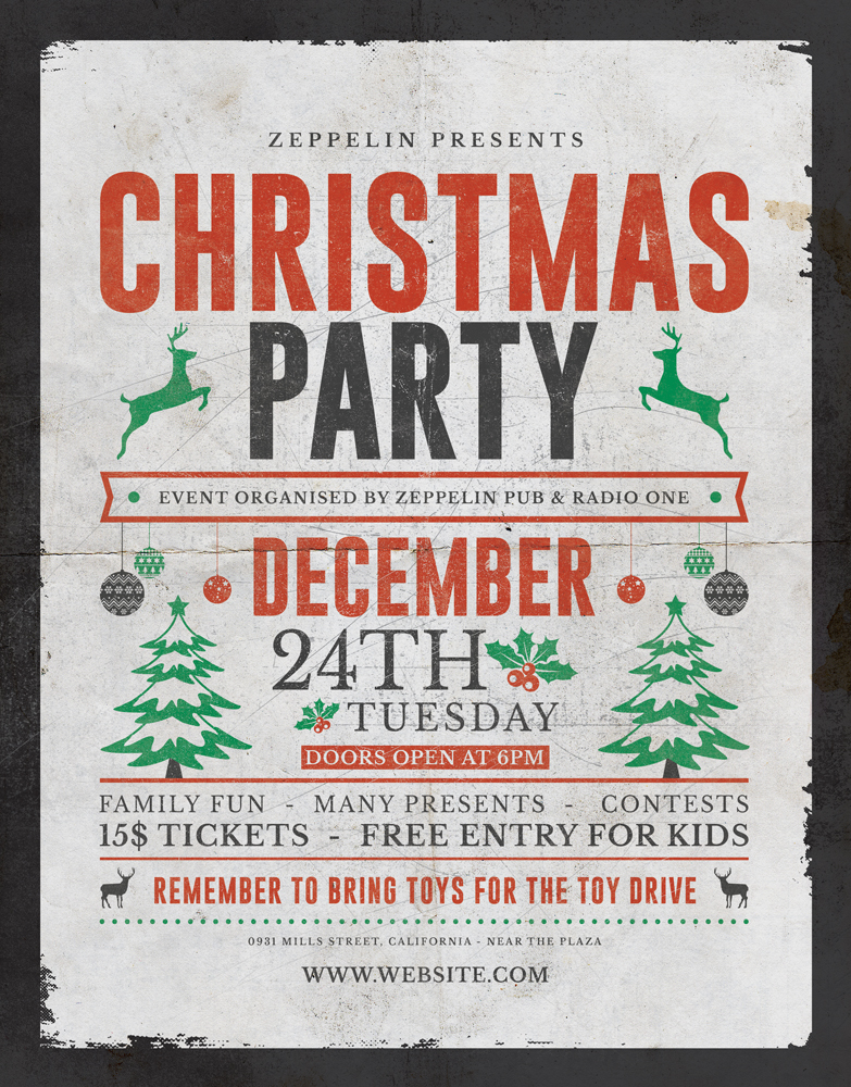 Christmas Flyer Template 2 Vol 2