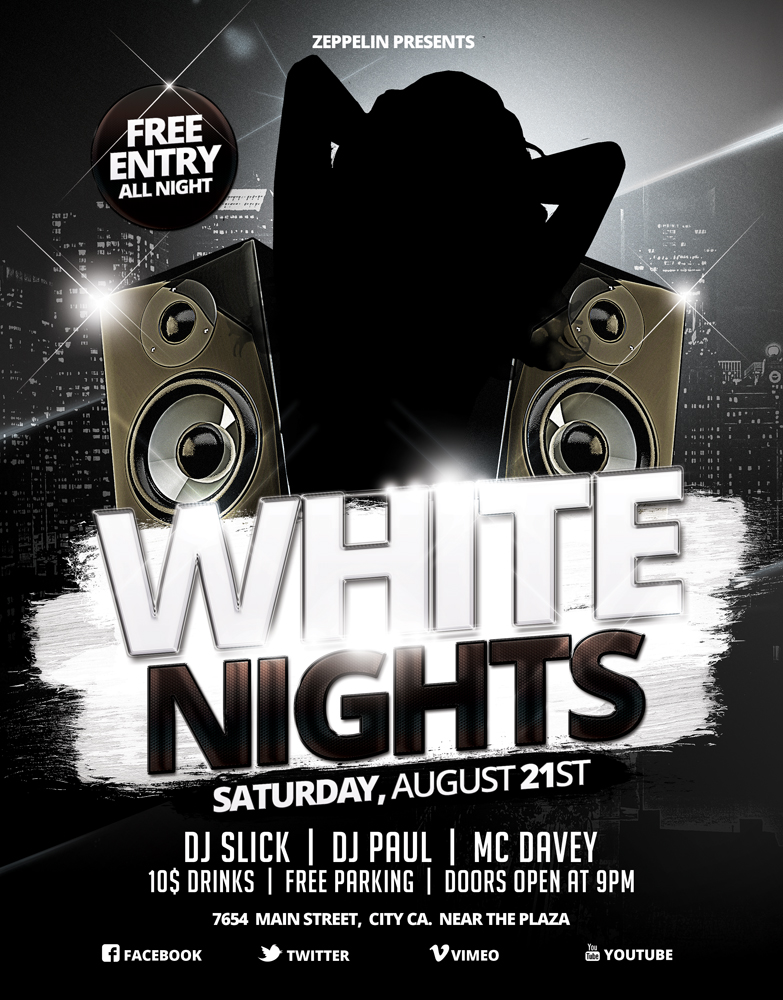 White Party Flyer 1